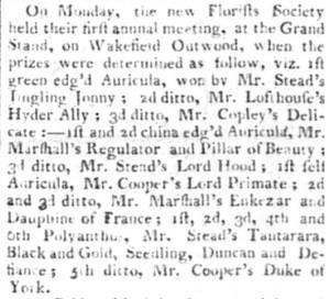 Wakefield Star 1807