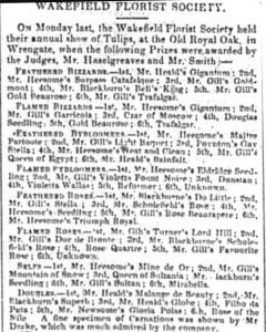 Wakefield and Dewsbury Journal 1834