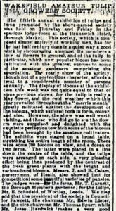 Wakefield Express 1885 Part 1
