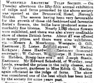 Wakefield Express 1890