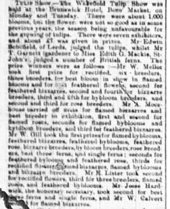 Wakefield Express 1891