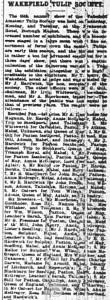 Wakefield Express 1901 Part 1