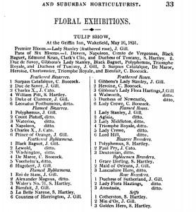 The Midland Florist 1851